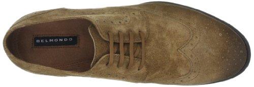 Belmondo 658900/Z, Scarpe stringate basse casual uomo Marrone (Braun (cuoio))