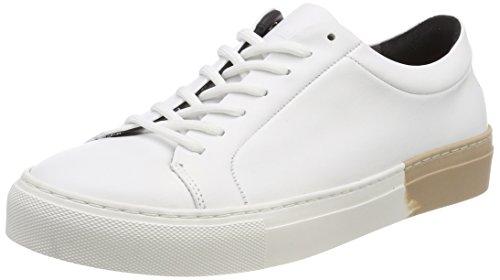 Royal RepubliQ Damen Elpique Impact Shoe-White Sneaker Weiß (White + Red Accent)