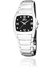 2b0132f44438 Lotus 15614 K Reloj Mujer Cuarzo Acero Tamaño 32 mm Circonitas