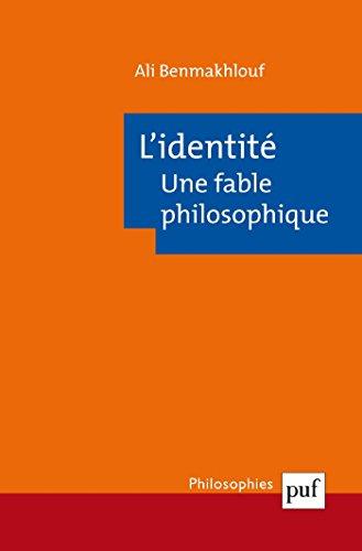 L'identit, une fable philosophique