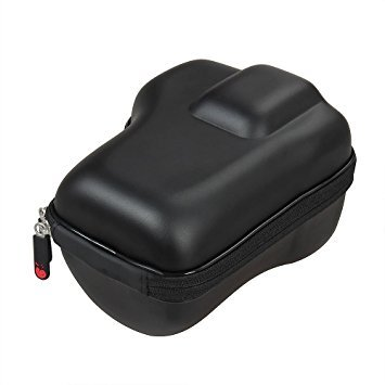 Hermitshell Hard EVA DSLR Camera Carrying Case for Canon (Black)