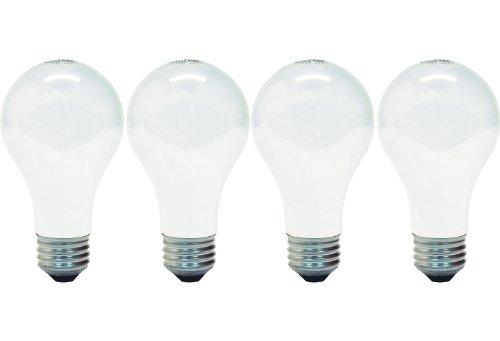 GE 43A/W/h-4/12PK–Lampe (A19, E26, weiß) (Lampen-lampe 120 Ge)