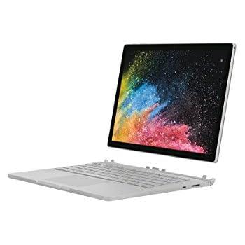 """Microsoft Surface Book 2, 13"""" Argent (Core i7, 16Go de RAM, 512Go, Windows 10 Pro) - Calvier AZERTY Français"""