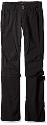 prAna Women's Tall Halle Convertible Pants, 16, Black - Prana Convertible Pants