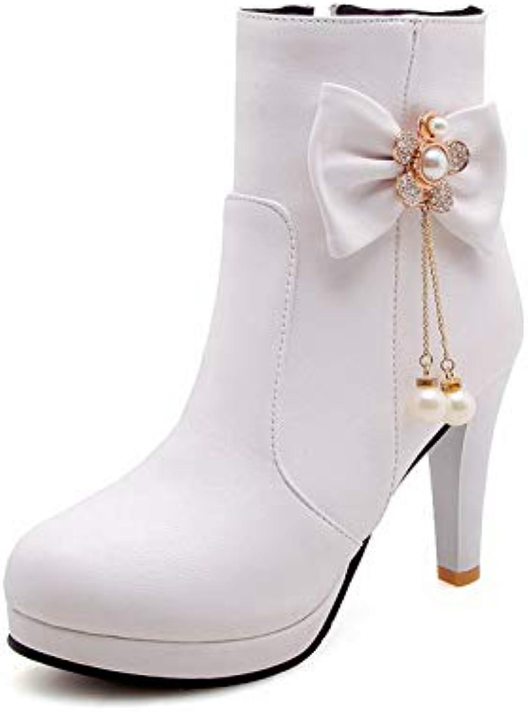 AN DKU02434, Sandali con Zeppa Donna, Bianco (bianca), 35 EU | Ben Noto Per Le Sue Belle Qualità  | Maschio/Ragazze Scarpa