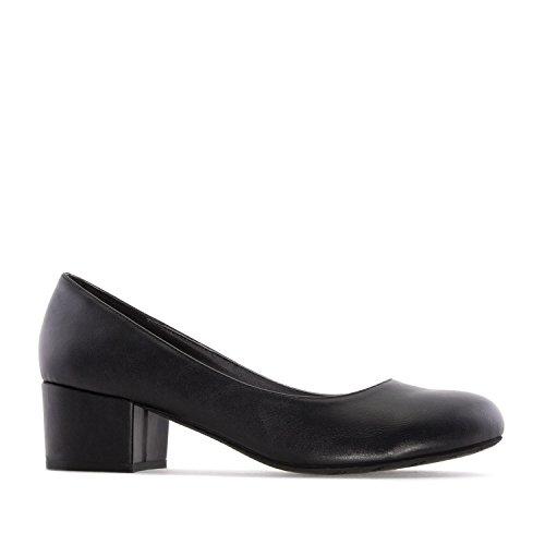 42 Grandes 32 Chaussures Petites Large Talon 45 Et Am5210 Noir rI1Trgqw