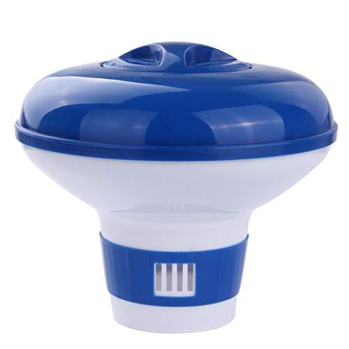 Blueborn XL Dosierschwimmer CP-9 Premium Chlorspender Chemikalienspender für 5x 200g Chlor-Tabletten