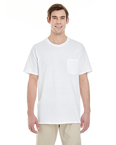 Gildan Mens Heavy Cotton T-Shirt with a Pocket (G530) -