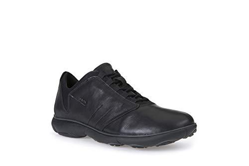 Geox Herren U Nebula a Sneakers, Schwarz (Blackc9999), 42 EU