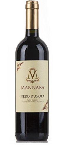 Mannara - Vino Rosso Nero d'Avola - 2015 - 750 ml