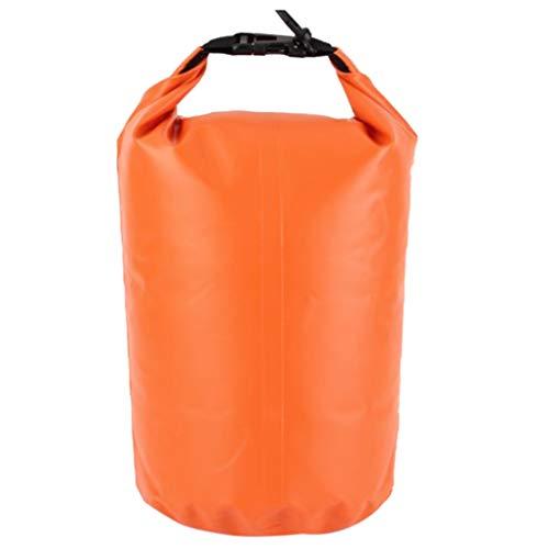 Demino Wasserdicht Dry Bag Roll Top Dry Compression Rafting Boating wasserdichte Tasche Sack für Rafting Segeln Wandern Camping 75L 75L & Orange