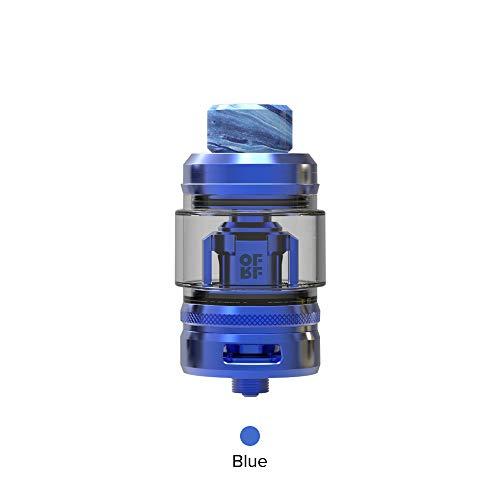 OFRF NexMESH Sub-Ohm Tank,E Zigarette Top Refill Verdampfer 4ml mit Verdampferköpfe 0.20ohm A1/0.15ohm 316L Mesh Coils/Vapever Atomizer 2ml-Ohne Nikotin Ohne Tabak(Blau)