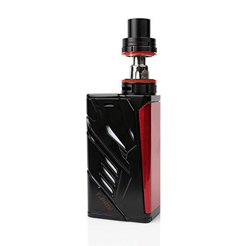 SMOK T PRIV 220W TC Kit Iniziale di Sigarette Elettronica (Nero/Rosso)