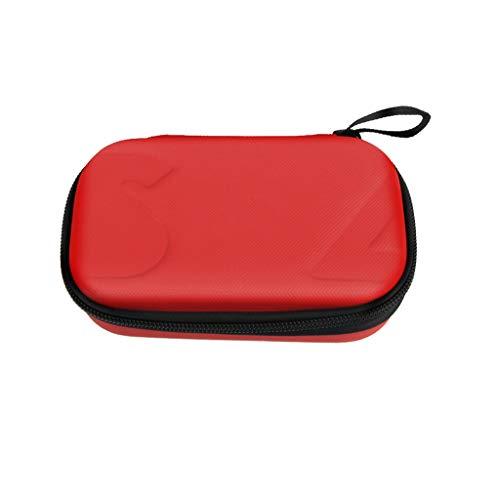 MMLC DJI OSMO Pocket Zubehör Tasche Case (RED) Cellular Glass Mount