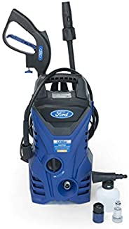 Ford 120 Bar 1500 Watt Compact Electric Pressure Washer For Home,Garden,and Car,Blue, F2.1