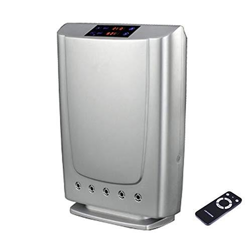IIWOJ Fernbedienung Home Luftreiniger, Negativ-Ionen-Generator mit Fernbedienung (Silber)