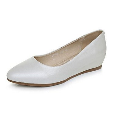 RTRY Donna Appartamenti Comfort Pu Estate Casual Piatto Bianco Bianco6.5-7 Us / Eu37 / Uk4 5-5 / Cn37 US5 / EU35 / UK3 / CN34