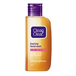 Clean & Clear Foaming Facial Wash (50 ml) (Pack of 2)