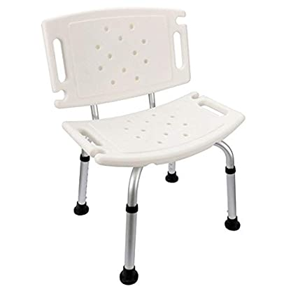 ZBYY Taburete Ducha Ortopedia Silla Baño Antideslizante Discapacitados Asiento Portátil Ortopédico para Ancianos