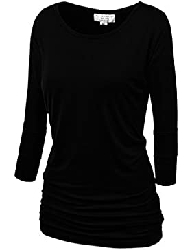 Match Damen 3/4 aermel T-Shirt #