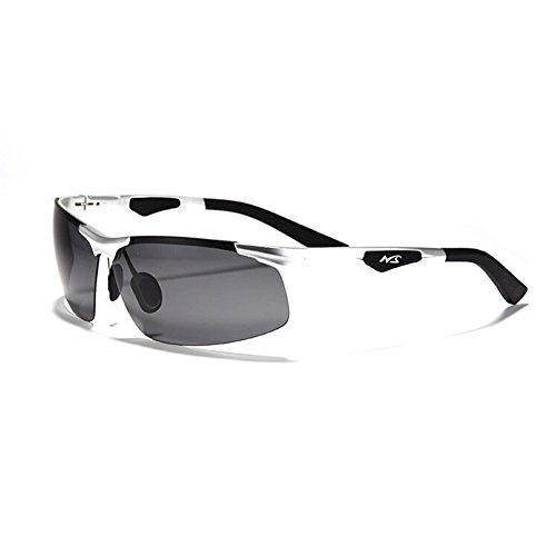 Wawoo reg; AL-MG Riding Sport polarisierte Sonnenbrille fürs RadfFahren/Sonnenbrille fürs Angeln, SonnenbBrille für Herren