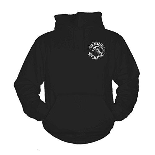 shirtmachine Respect Hoodie (L) - Davidson Harley Hoodie