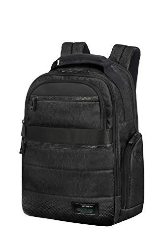 SAMSONITE Cityvibe 2.0 - Medium Sac à Dos pour Ordinateur Portable, 41 cm, 17.5 L, Noir (Jet Black)