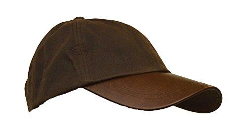 e6995e94cd2b00 Sunbo Men's Baseball Cap Vintage Adjustable Suede Leather Hats with ...