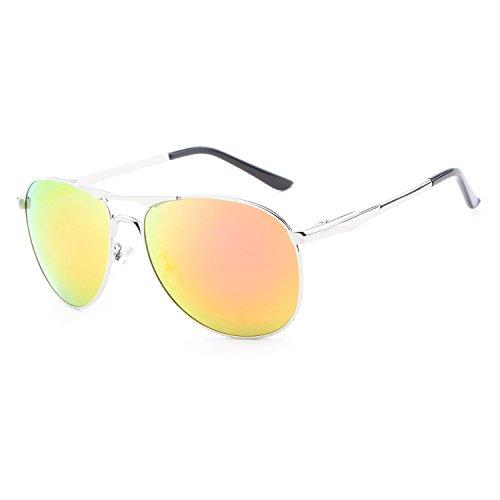 L'uomo, occhiali da sole, moda, tempo libero, all'aperto, polarizzata, giallo, E00113