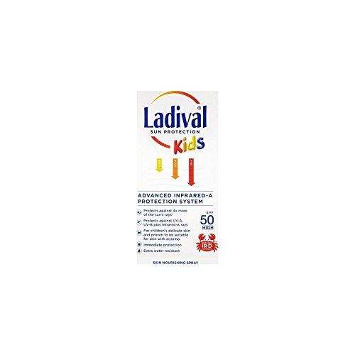 Ladival Enfants Protection Solaire SPF50 Vaporisateur 200ml - Pack 3