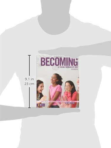 Becoming a Young Woman of God: An 8-Week Curriculum for Middle School Girls (Invert)