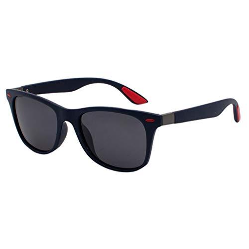 Lazzboy Polarisierte Sonnenbrille Für Frauen Mann Verspiegelte Linse Mode Brille Brillen Herren & Damen Sonnenbrillen Original Unisex - Farben, Verspiegelt(C)