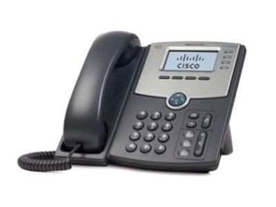 Cisco SPA504G - 4 LINE IP PHONE WITH DISPLAY - W/ DISPLAY POE PC IN -