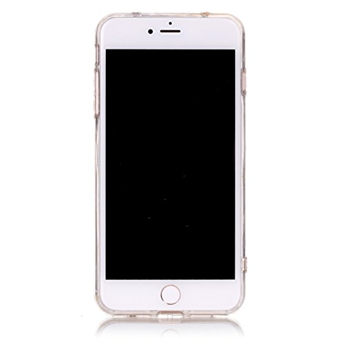 WYSTORE iPhone 7 plus Case Silicone Coque Souple Transparente TPU Silicone en Gel Case Premium Ultra-Light Ultra-Mince Skin de Protection Pare-Chocs Anti-Choc Bumper pour Apple iPhone 7 plus 5.5 Pouce Nabi