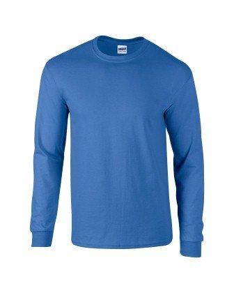 Pirate Booty auf American Apparel Fine Jersey Shirt Kobaltblau