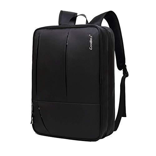 GBY Laptop-Rucksack, multifunktionaler wasserdichter Business-Rucksack, 17-Zoll-Reise-Laptop-Rucksack zum Wandern und im Freien-black