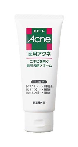 ROSETTE | Acne Care | Facial Washing Foam 130g (japan import)