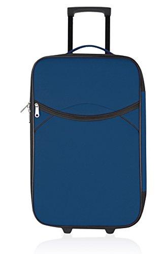 UNANYME GEORGES RECH Trolley semirrígido Nice Azul 70 cm
