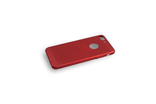 iPhone 8 Plus Hülle - iPhone 7 Plus Hülle, Hard PC Dünn, Rot