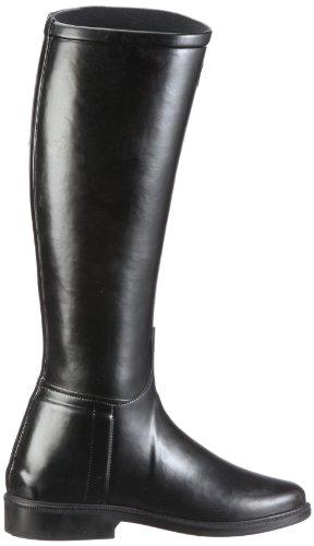 Le Chameau Botte Cavaliere, Bottes de pluie femmes Noir (Noir 247)