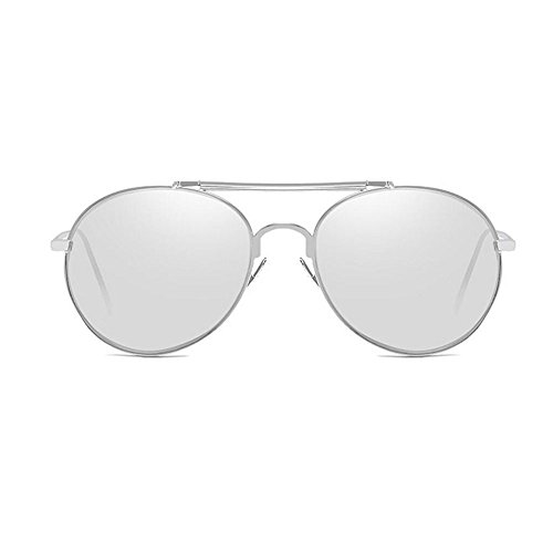 RYRYBH Sonnenbrille Frauen Polarisierte Sonnenbrille, Katze Brille Gesicht Flache Linse Metalllinse Sonnenbrille UV400 Objektiv Material Harz Sonnenbrille Sonnenbrille