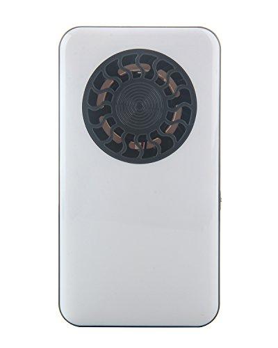 niceeshop(TM) Ventilador de Bolsillo Personal de Verano con Batería de Litio Recargable con Pilas