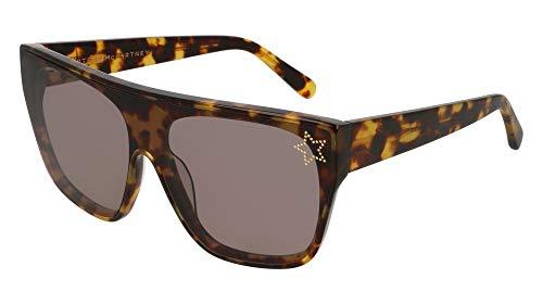 Stella mccartney occhiali da sole sc0101s havana/grey 99/0/145 donna