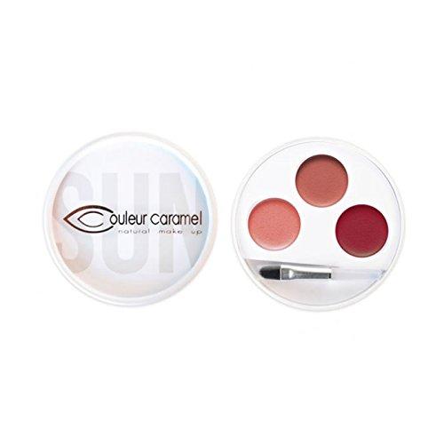 COULEUR CARAMEL Palette 3 rouges à lèvres n°31 Swahili - 3x0.7g