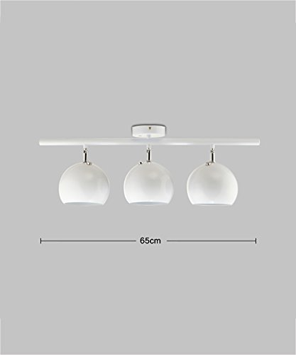 ZGW Projecteurs 3 Spots Spotlights Fer Moderne Piste Électronique Spotlights Lumières Créatives De Mode ( taille : A )
