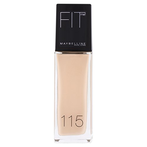 Maybelline Foundation Ivory (Maybelline New York Fit Me! Make-up Ivory 115, 1er Pack (1 x 30 ml))