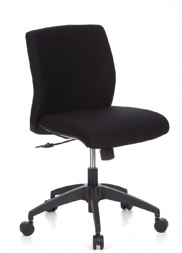 HJH OFFICE 657361 - SILLA DE OFICINA  COLOR NEGRO