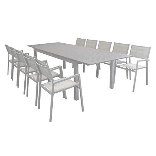 Tavolo Plastica Giardino Allungabile.Tavolo Per Giardino Tavolo 180x85ideapiu Tavoli Allungabili Tavolo