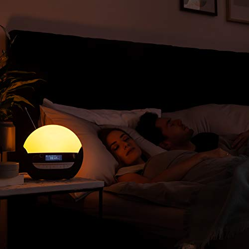 Lumie Bodyclock Luxe 750DAB Wake-up Light with DAB Radio