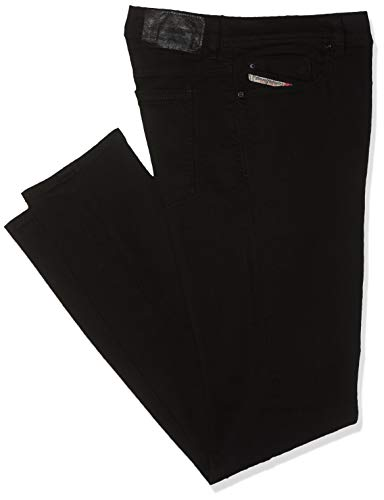 Diesel Herren Skinny Jeans Sleenker Pantaloni, Schwarz (Black/Grey 0886Z), W34/L34 -